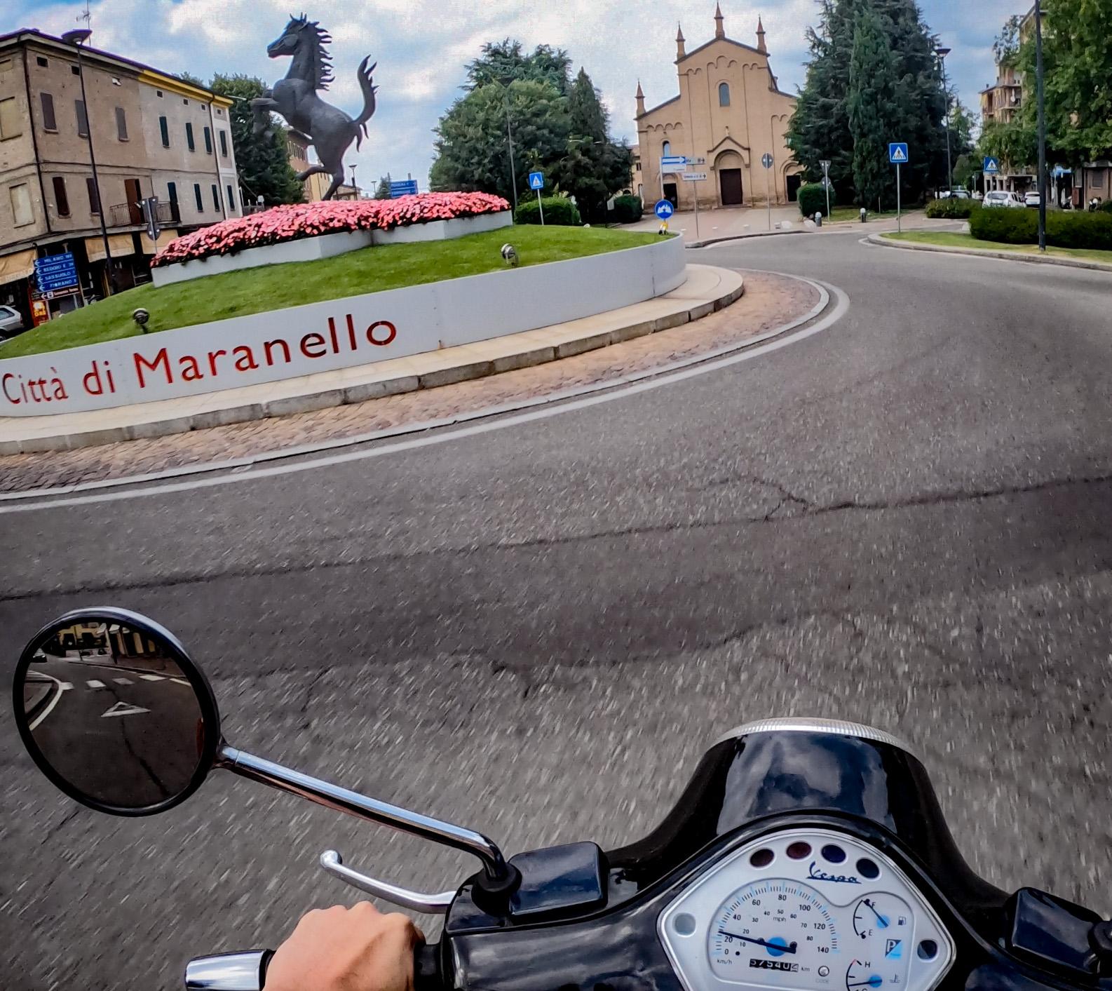 Maranello – Francia in Vespa, la Liguria on the road: Passo del Cerreto