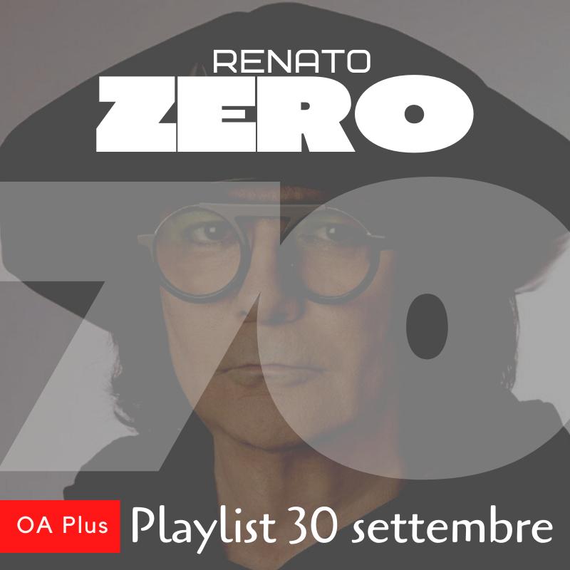 Buon compleanno Renato Zero! 70 canzoni per festeggiare 70 anni