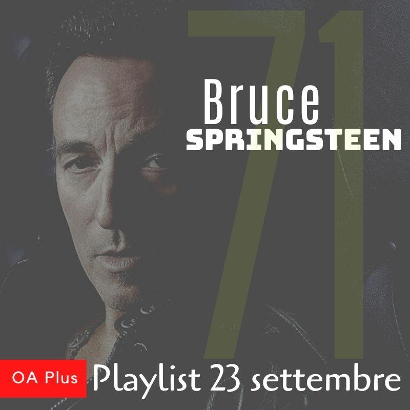 Buon compleanno Bruce Springsteen! Per i 71 anni di The Boss una playlist speciale