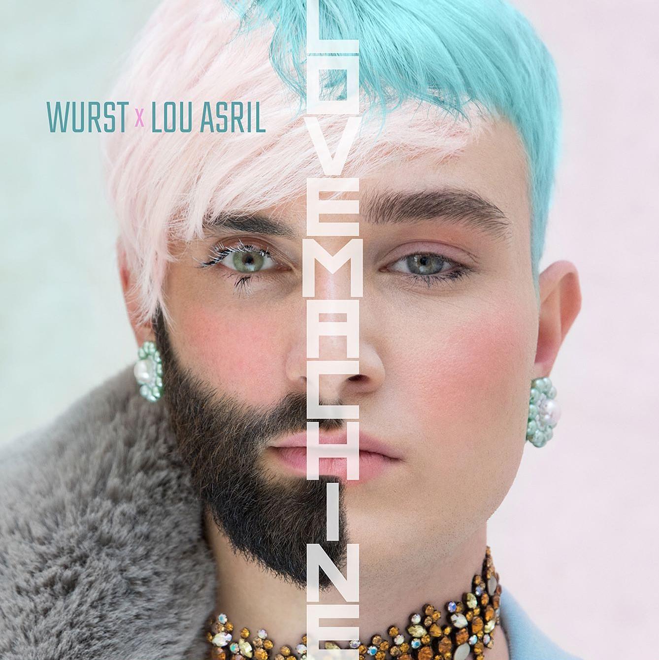"""Fuori """"Lovemachine"""", il nuovo singolo di Conchita Wurst assieme a Lou Asril"""
