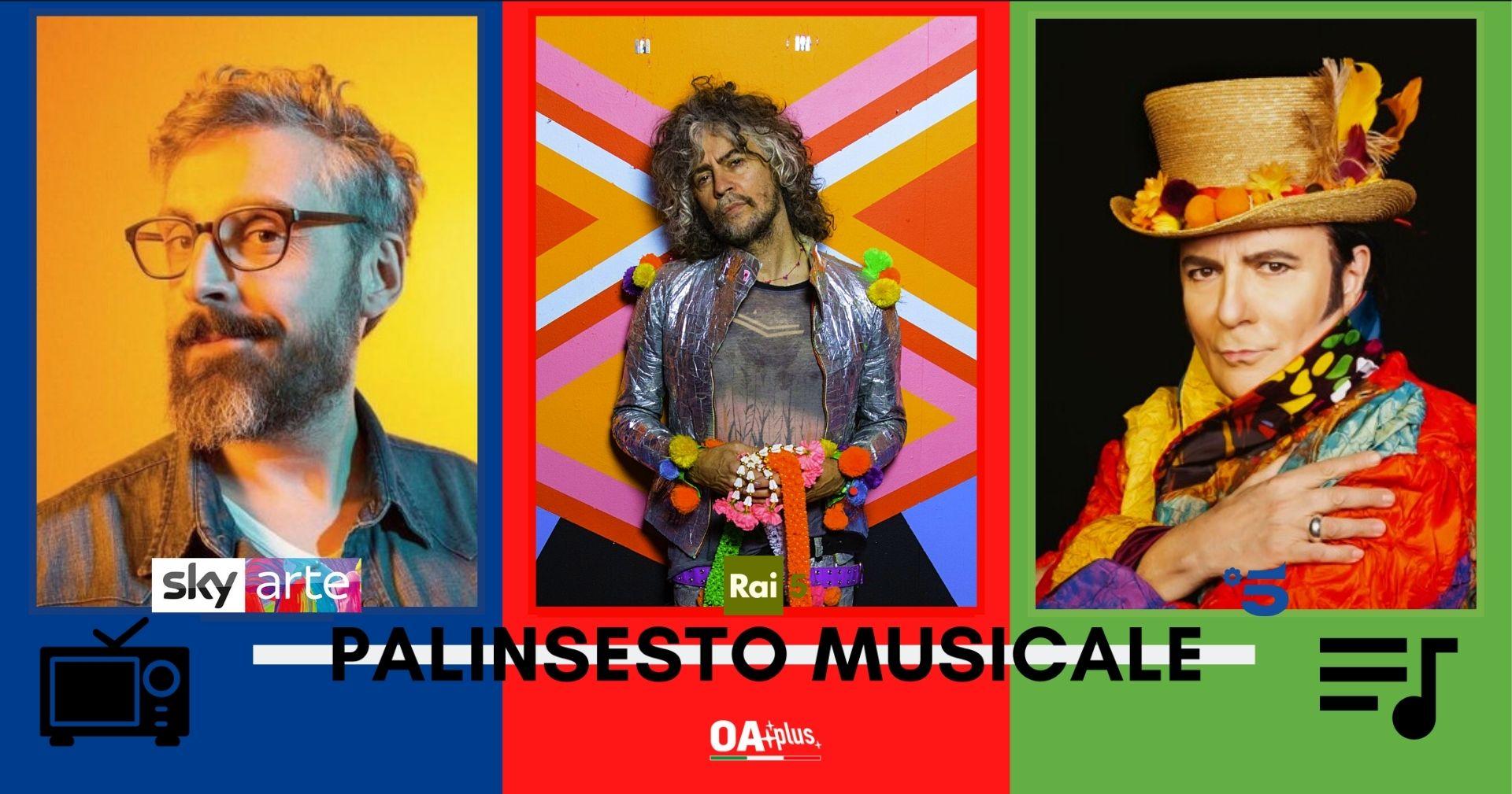 Rubrica, PALINSESTO MUSICALE: Brunori Sas, The Flaming Lips, Renato Zero