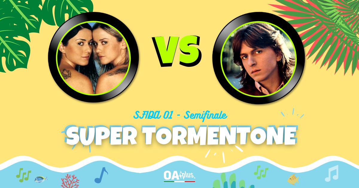 """SUPER TORMENTONE: """"Vamos a bailar"""" di Paola e Chiara VS """"Luna"""" di Gianni Togni – Vota il tuo preferito"""