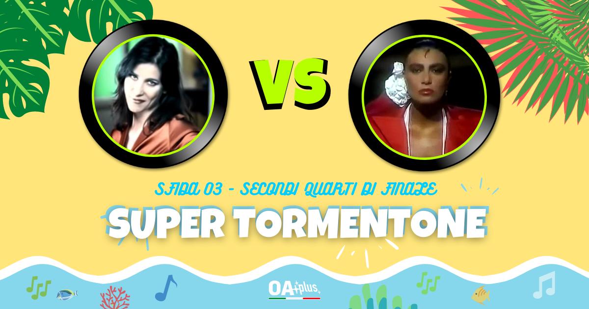 """SUPER TORMENTONE: """"Sai che è un attimo"""" di Paola Turci VS """"Non sono una signora"""" di Loredana Bertè – Vota il tuo preferito"""