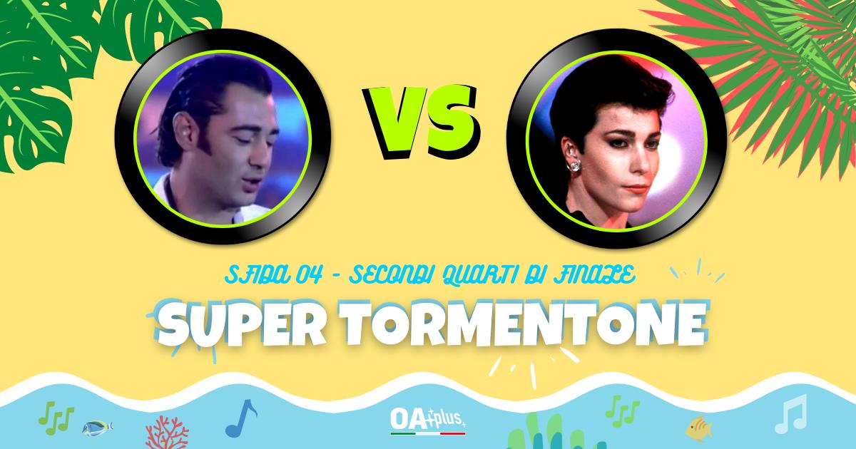 """SUPER TORMENTONE: """"Mare mare"""" di Luca Carboni VS """"Un'estate al mare"""" di Giuni Russo – Vota il tuo preferito"""