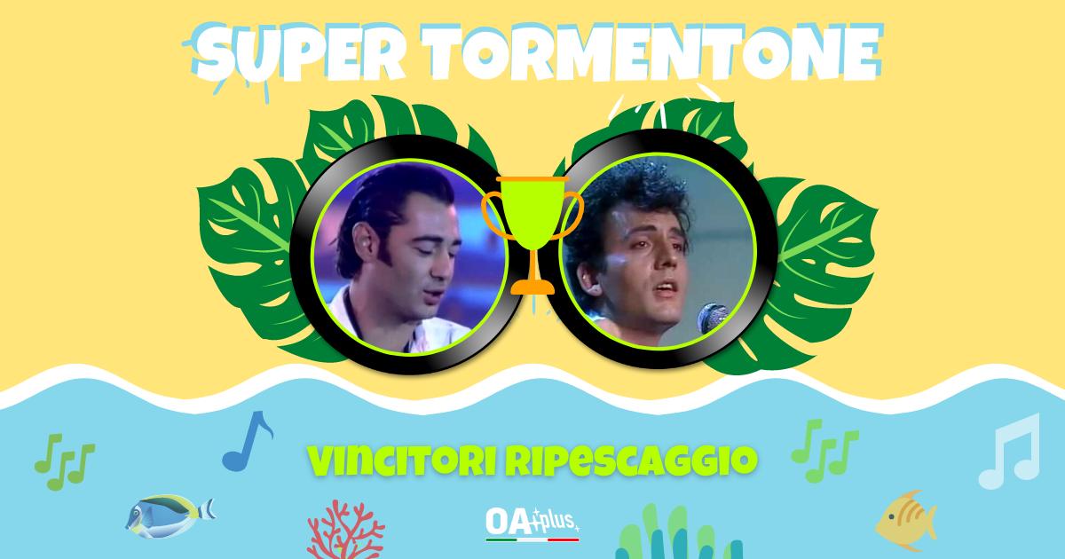 """SUPER TORMENTONE: """"Mare mare"""" e """"Bella d'estate"""" vincono il ripescaggio, Luca Carboni e Mango accedono ai secondi quarti di finale"""