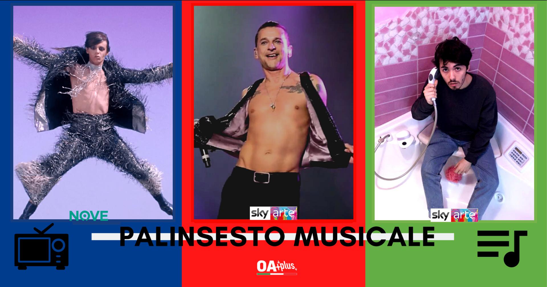 Rubrica, PALINSESTO MUSICALE: Lucio Corsi, Depeche Mode, Fulminacci