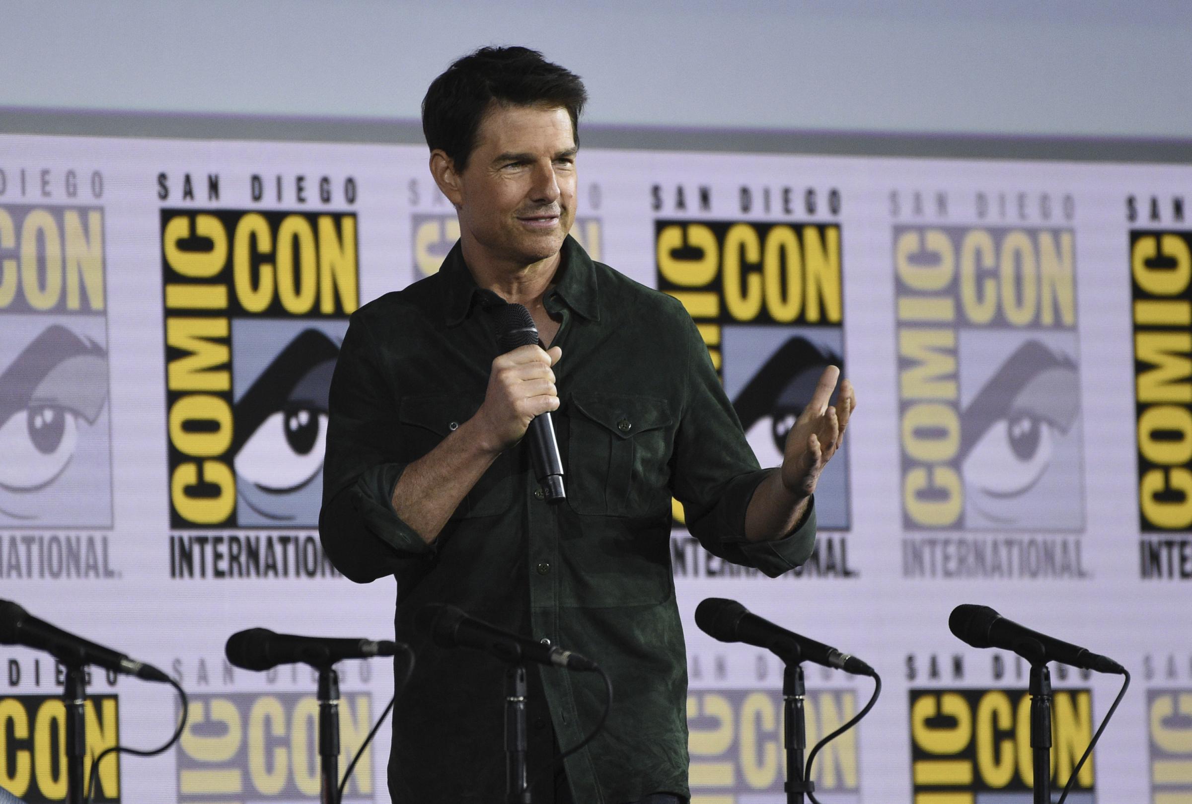 """Tom Cruise, l'attore a Roma. Al via le riprese di """"Mission: Impossible"""