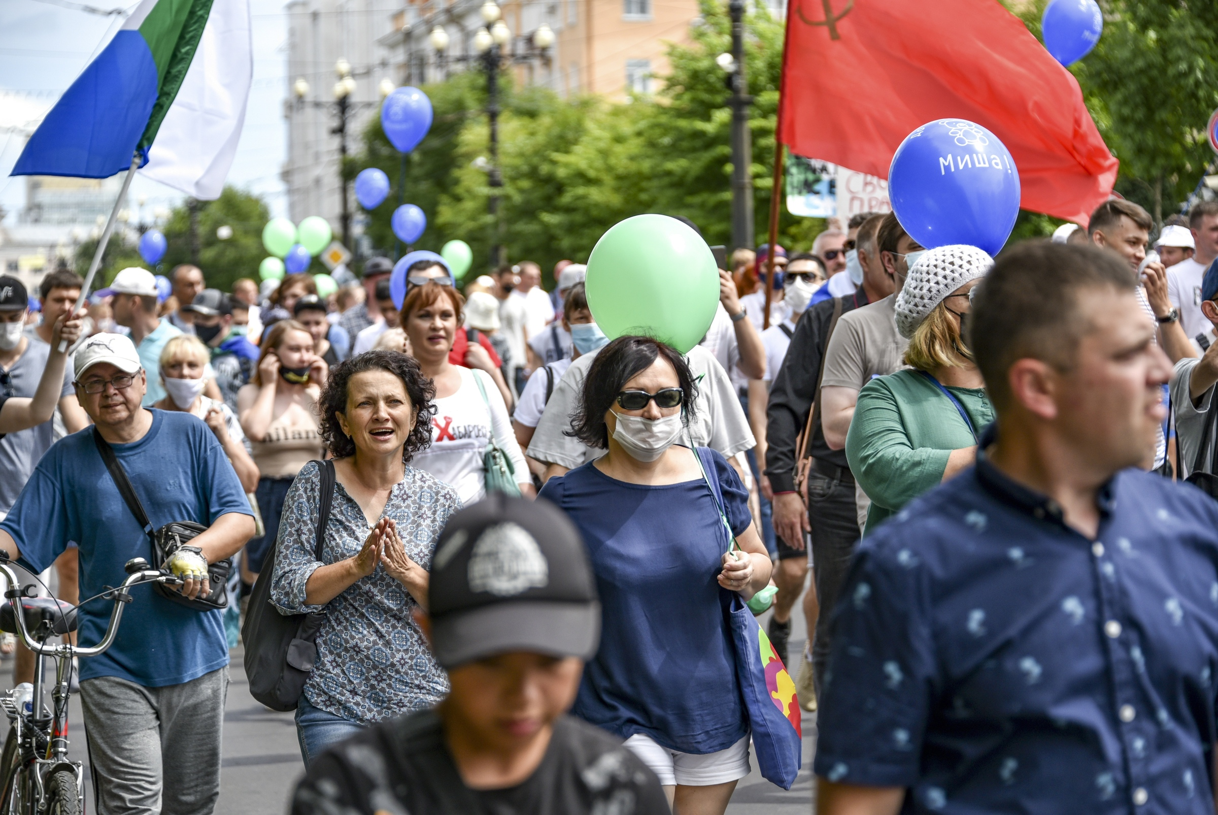 Russia: ancora vive le proteste anti-Cremlino nell'estremo oriente