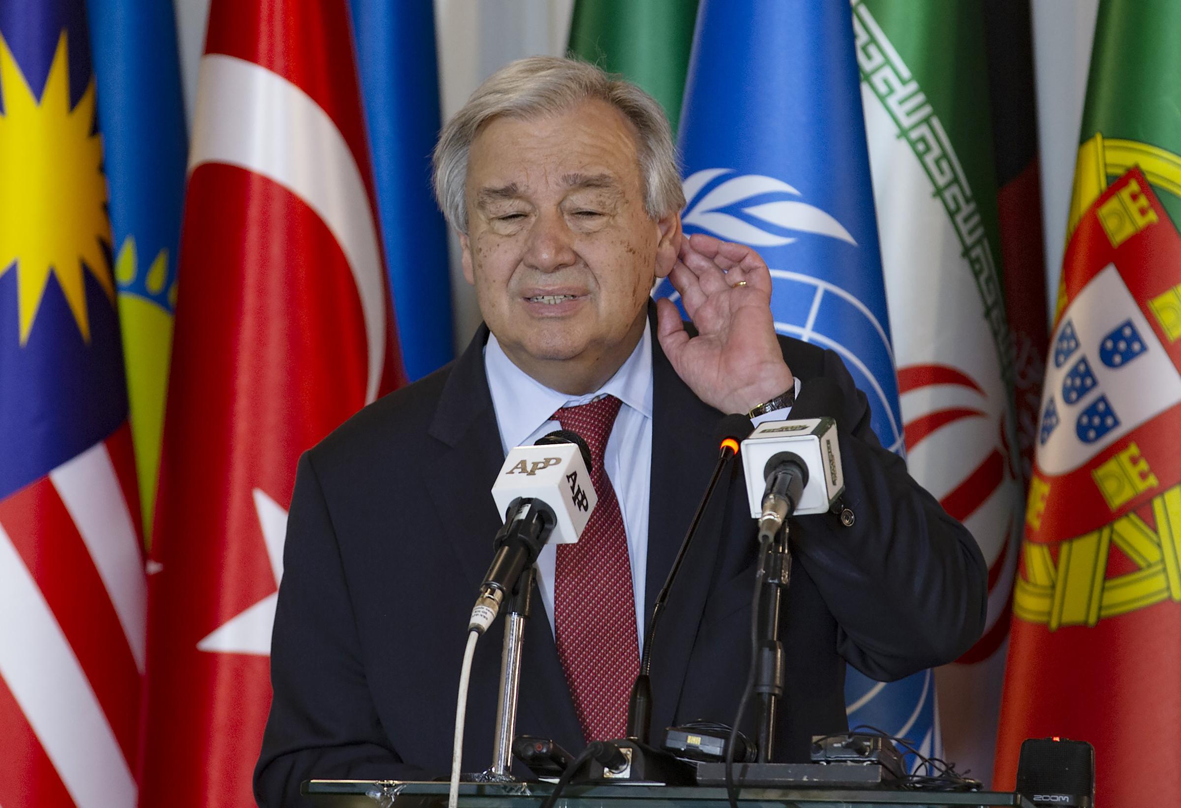 António Guterres (Onu): il Covid ha incontrato sistemi sanitari inadeguati