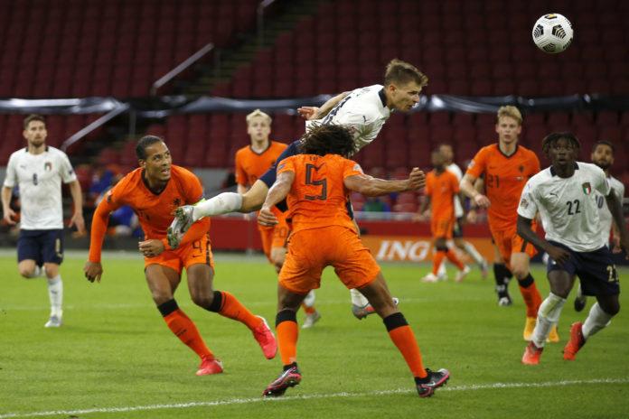 Italia Olanda LIVE, Nations League