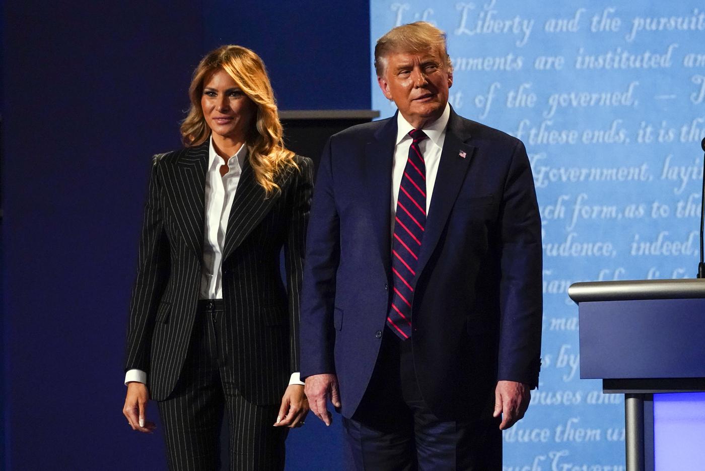 Donald Trump e la moglie Melania positivi al Coronavirus