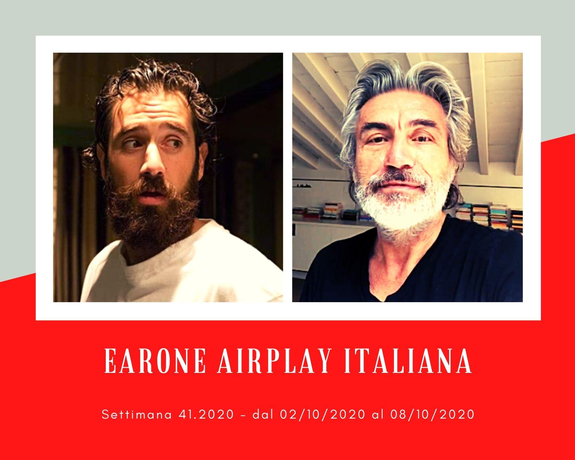 Classifica Radio EARONE Airplay Italiana, week 41: Tommaso Paradiso supera Emma, ma in vetta ritorna Ligabue
