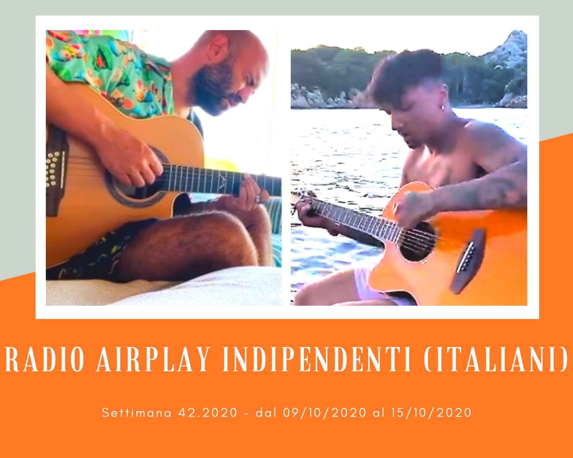 Classifica RADIO AIRPLAY Indipendenti Italiani, week 42: Sfida giallorossa Roma-Lecce. I Negramaro scippano la vetta a Ultimo