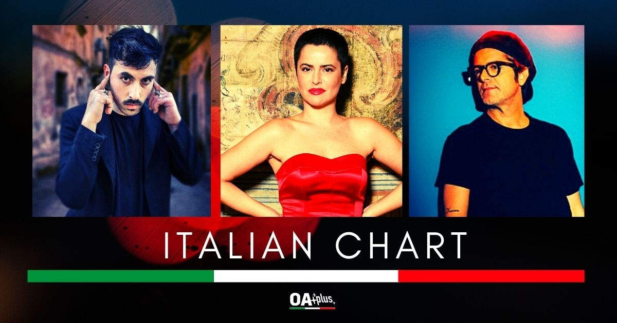 OA PLUS ITALIAN CHART (WEEK 35/2020): Silvia Salemi al vertice, Samuele Bersani e La Municipàl ai suoi piedi