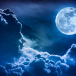 Ottobre 2020, Marte e una rara Luna Blu protagonisti del cielo