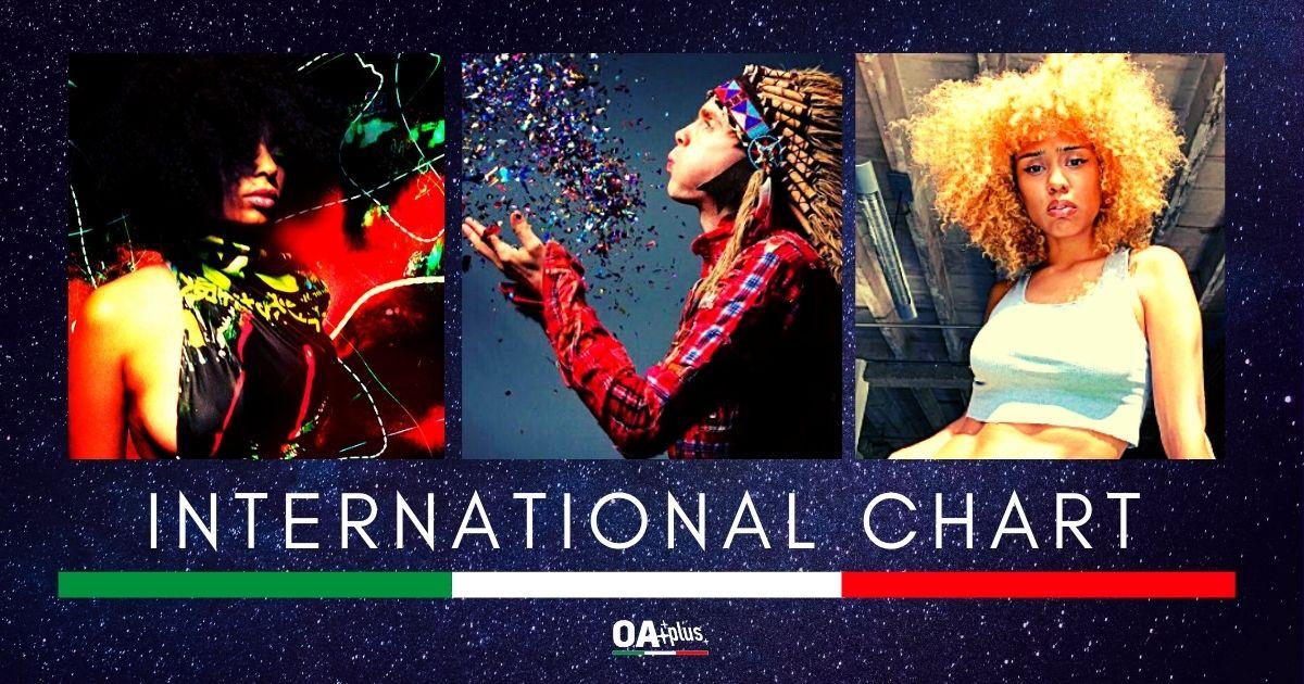 OA PLUS INTERNATIONAL CHART (WEEK 41/2020): Un viaggio in giro per il mondo pieno di novità. Sul podio Celeste, Fousheé e i Sigur Rós
