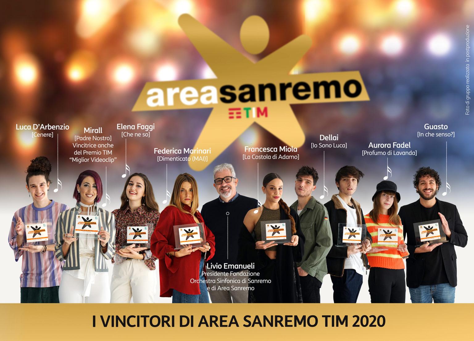 AREA SANREMO punta sulle donne per bilanciare i Festival all'Amadeus – Ecco i nomi degli 8 vincitori