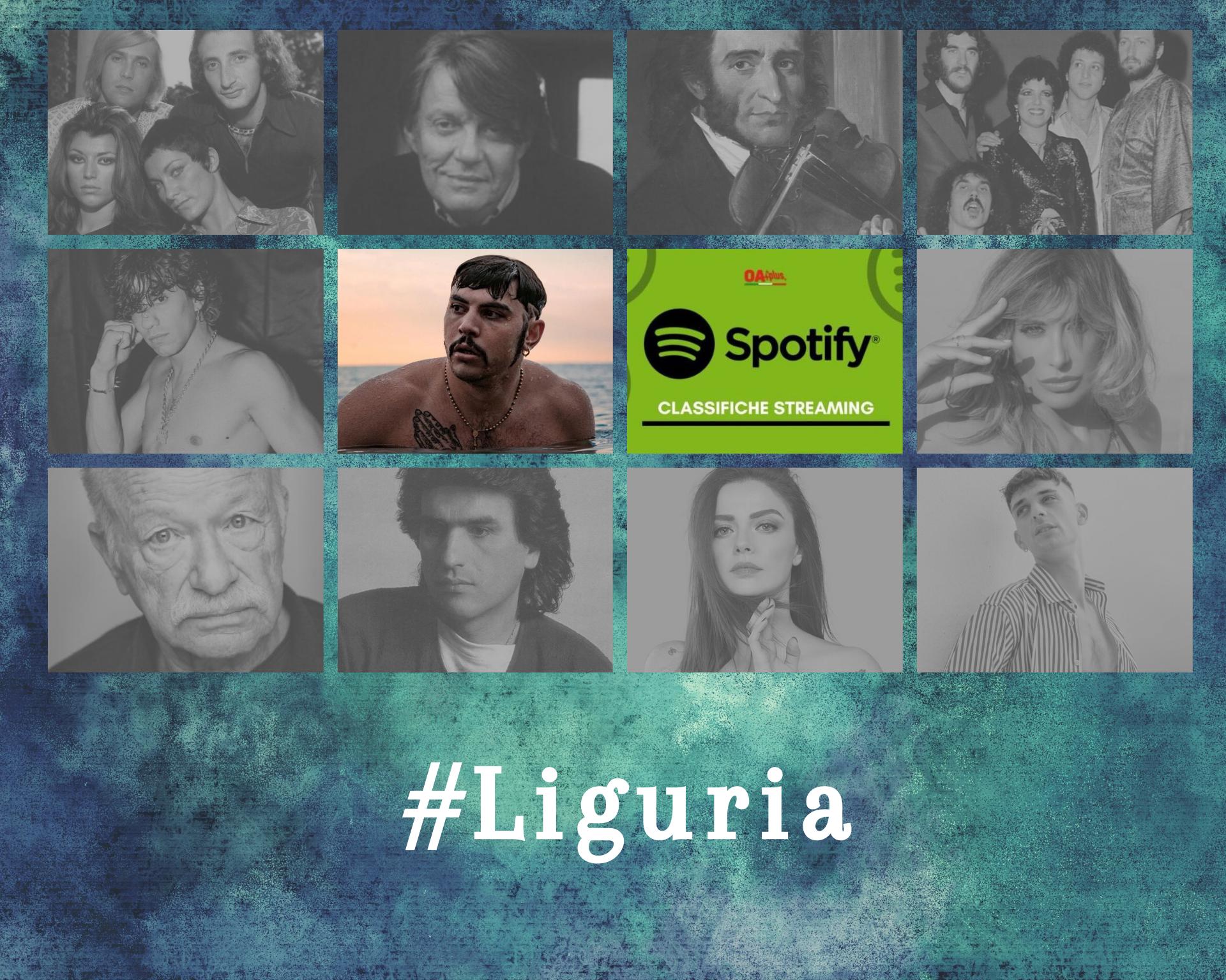 Cantanti della Liguria più ascoltati su Spotify: i rapper Izi e Tedua superano Ricchi e Poveri e Fabrizio De Andrè