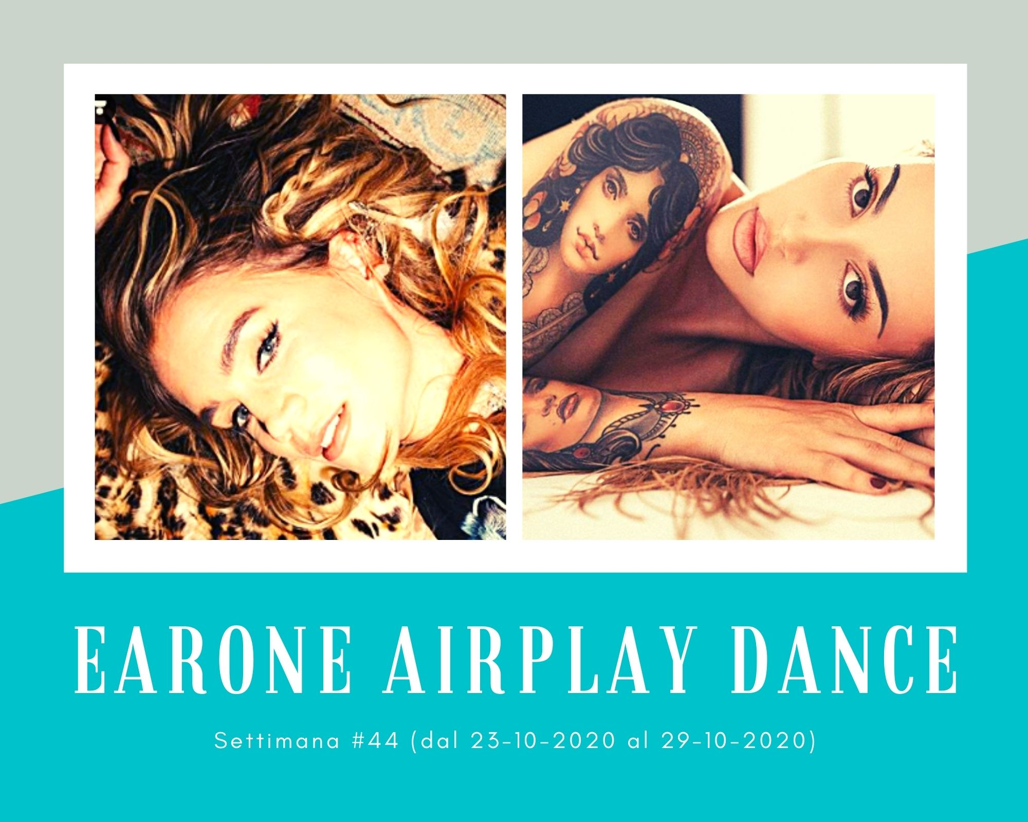 Classifica Radio EARONE Airplay Dance, week 44. Ilira contro Kiddo, sfida tra vocalist