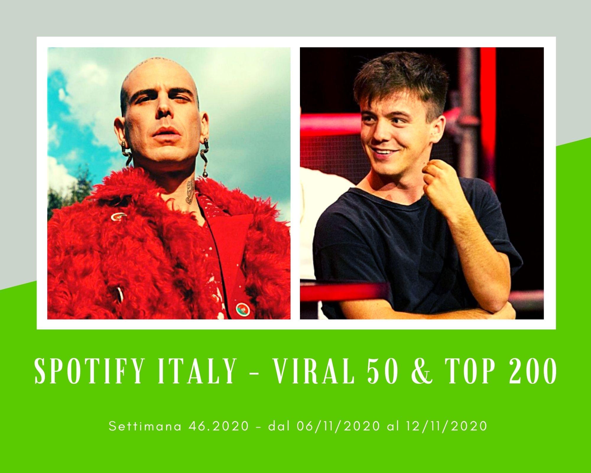 Classifiche SPOTIFY, week 46. Stream a gogò per Gemitaiz. Virale Will, il rapper scartato da Emma
