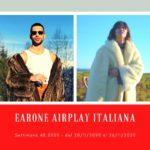 """Classifica Radio EARONE Airplay Italiana, week 48. """"Soldi"""" di Mahmood torna a suonare. Successo per Elisa e Ligabue bis"""