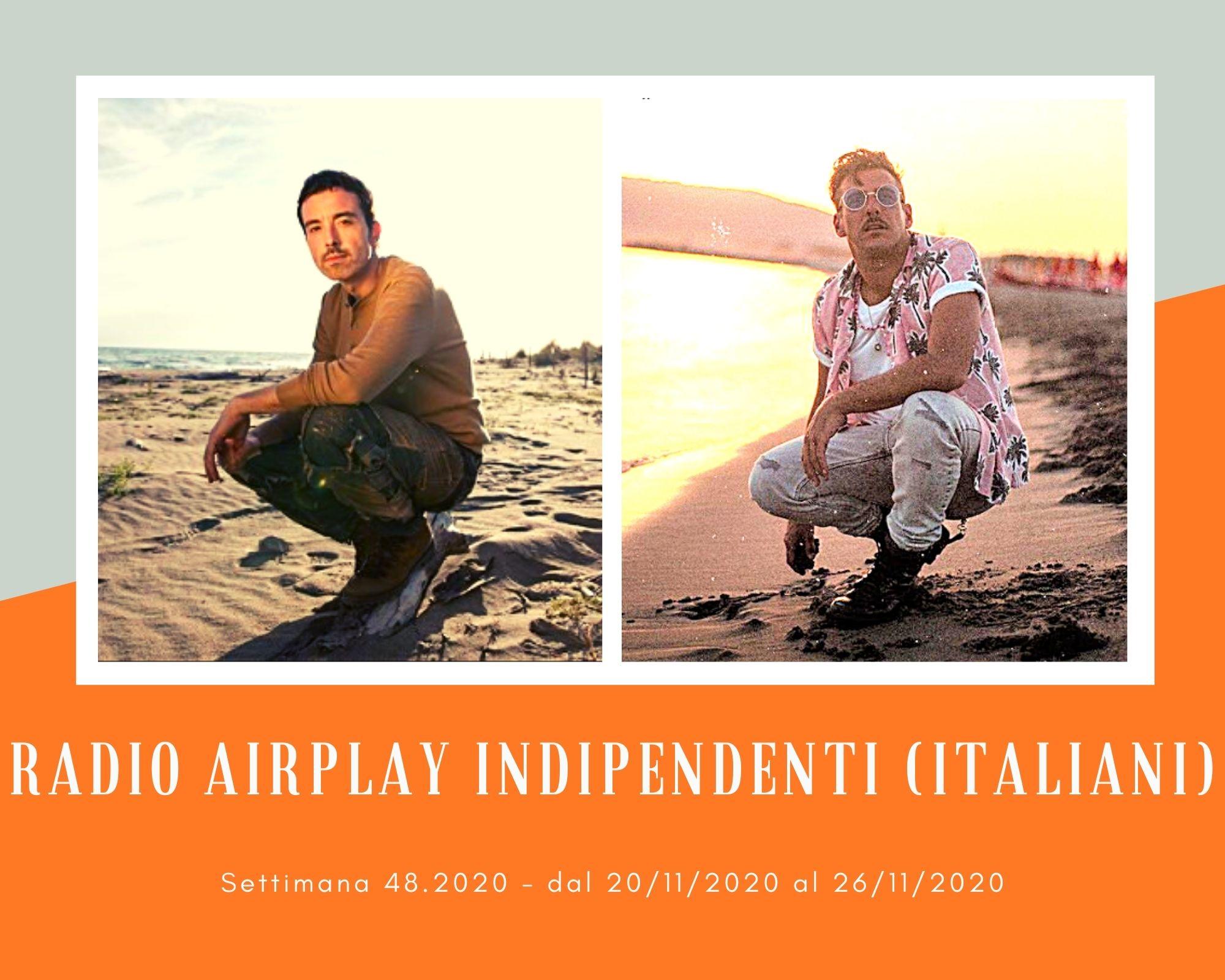 """Classifica RADIO AIRPLAY Indipendenti Italiani, week 48. Diodato supera Francesco Gabbani. Competizione anche tra ex """"Amici"""""""