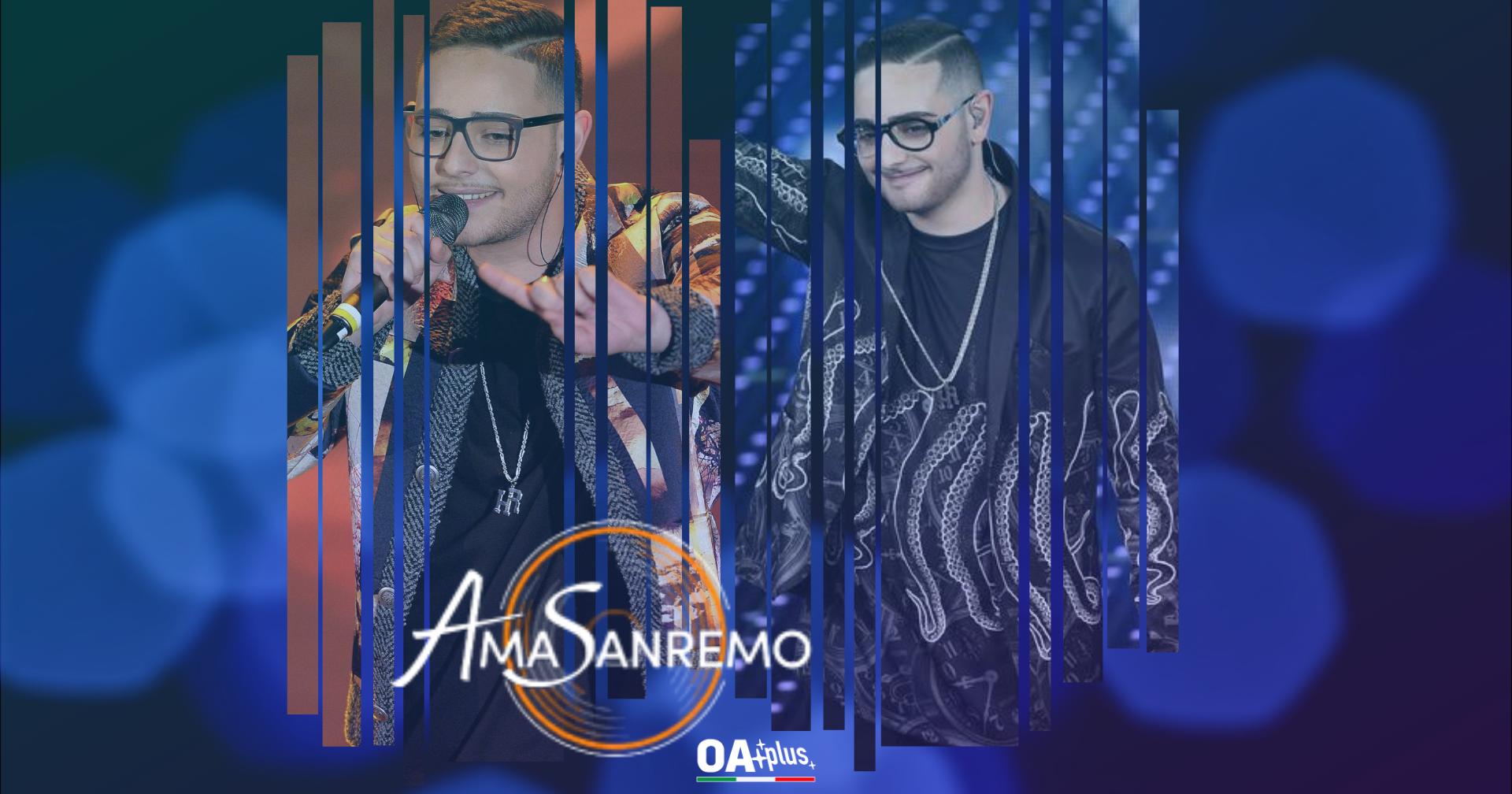 AmaSanremo: è Rocco Hunt l'ospite musicale della seconda puntata
