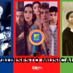 Rubrica, PALINSESTO MUSICALE: l'omaggio a Stefano D'Orazio, MTV Ema 2020, La Rappresentante di Lista