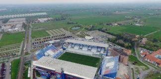 """Reggio Emilia, stadio """"Mapei - Città del Tricolore"""""""