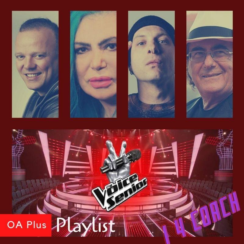 The Voice Senior. Una playlist per i 4 coach