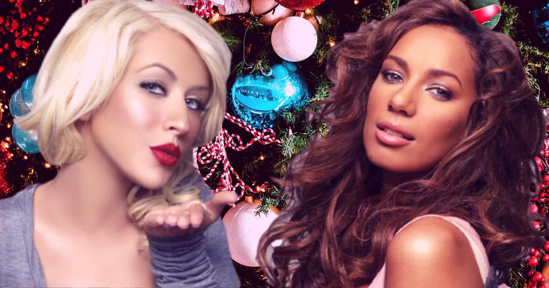 Leona Lewis e Christina Aguilera, due esibizioni da vere dive per brindare al 2021