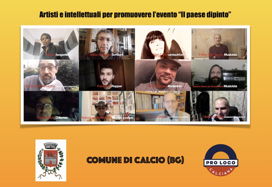"""Artisti e intellettuali uniti per Calcio, """"Il Paese dipinto"""""""