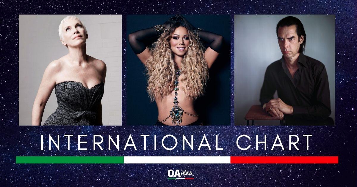 OA PLUS INTERNATIONAL CHART (WEEK 45/2020): Debutto alto per Annie Lennox che domina assieme a Mariah Carey e Nick Cave
