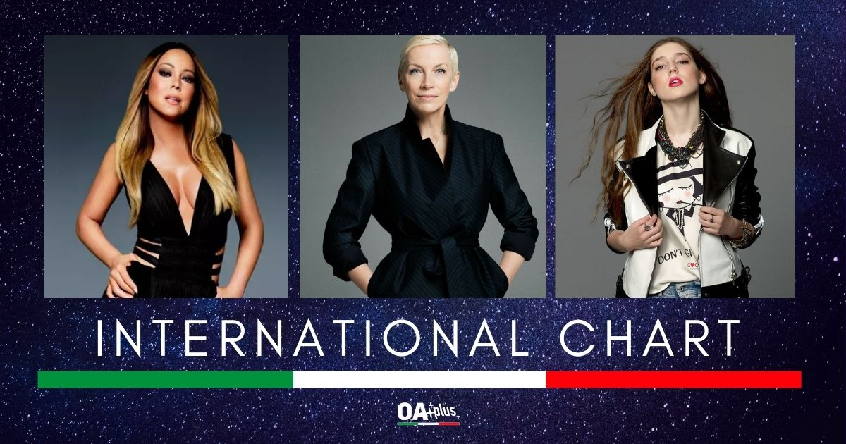 OA PLUS INTERNATIONAL CHART (WEEK 46/2020): Mariah Carey, Annie Lennox e Birdy vestono la vetta. Il Natale è donna!