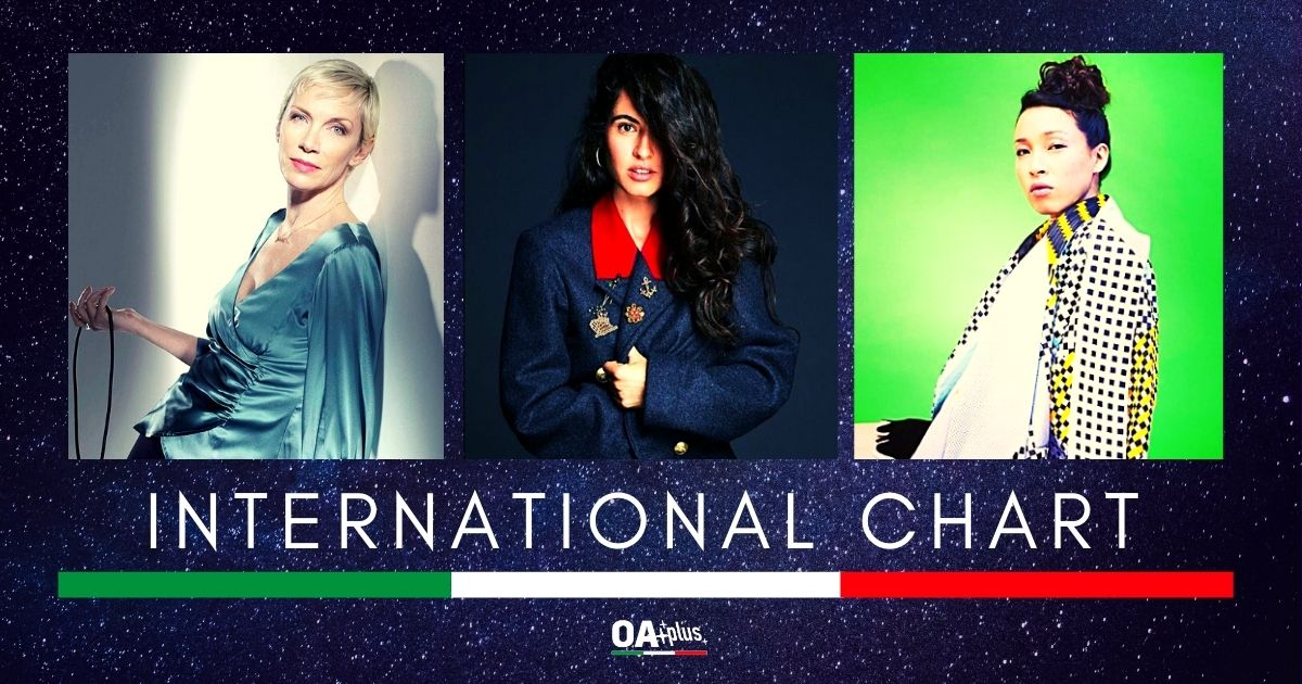 OA PLUS INTERNATIONAL CHART (WEEK 47/2020): I Little Dragon con Annie Lennox e Silvia Pérez Cruz rendono la top 3 donna!
