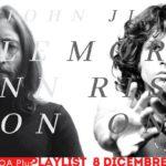 John Lennon & Jim Morrison. Una playlist condivisa per due leader rock