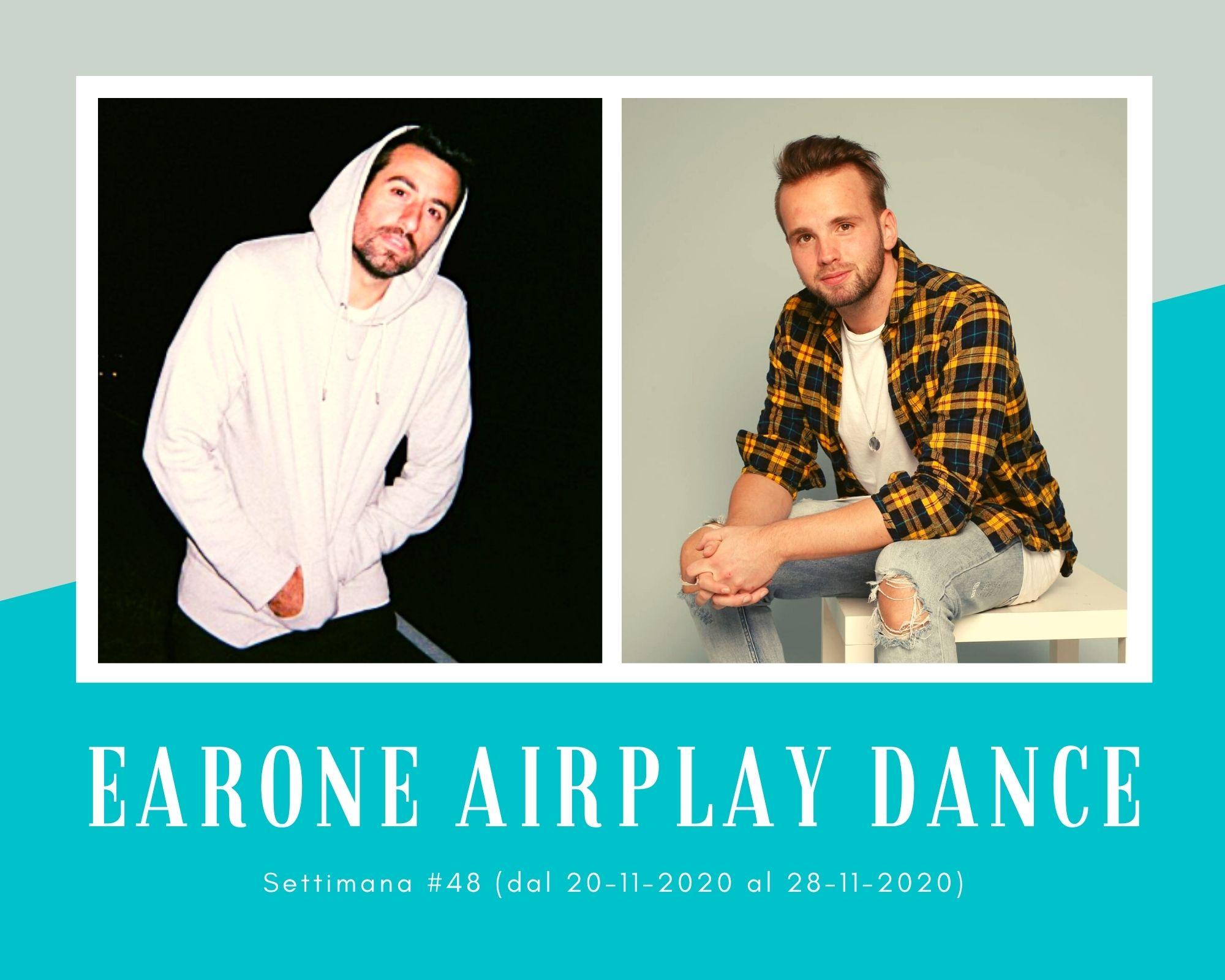 Classifica Radio EARONE Airplay Dance, week 48. Doppietta per Topic. Dotan sul podio