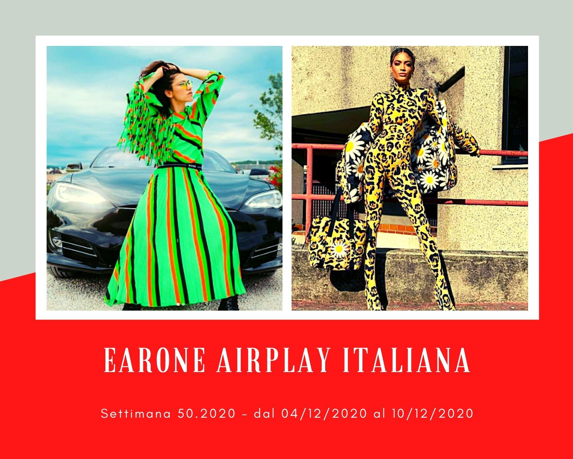 Classifica Radio EARONE Airplay Italiana, week 50. Dominano Elisa ed Elodie, ma in versione duetto
