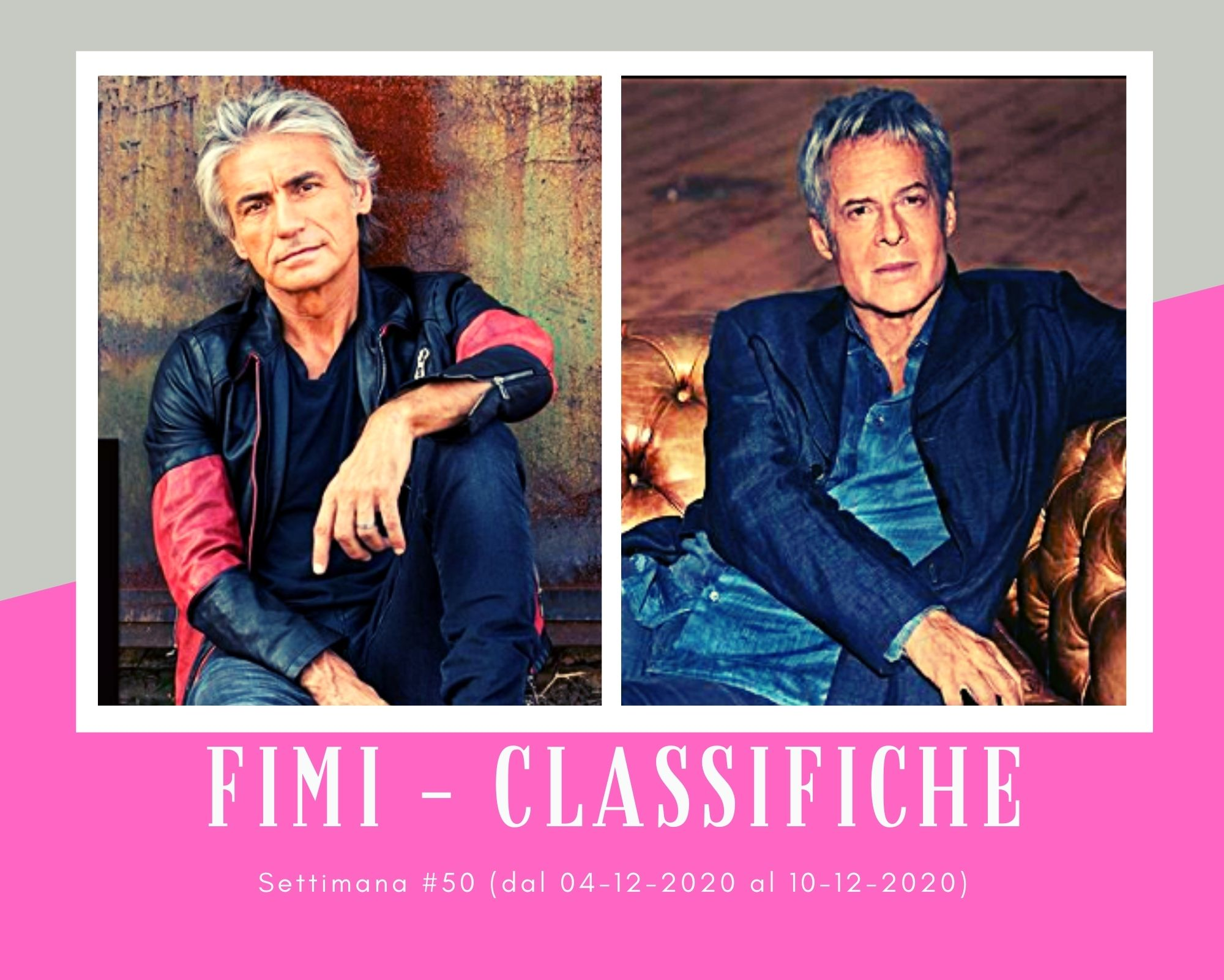 Classifiche FIMI, week 50. Ligabue batte Claudio Baglioni, Achille Lauro cede la corona a Mariah Carey