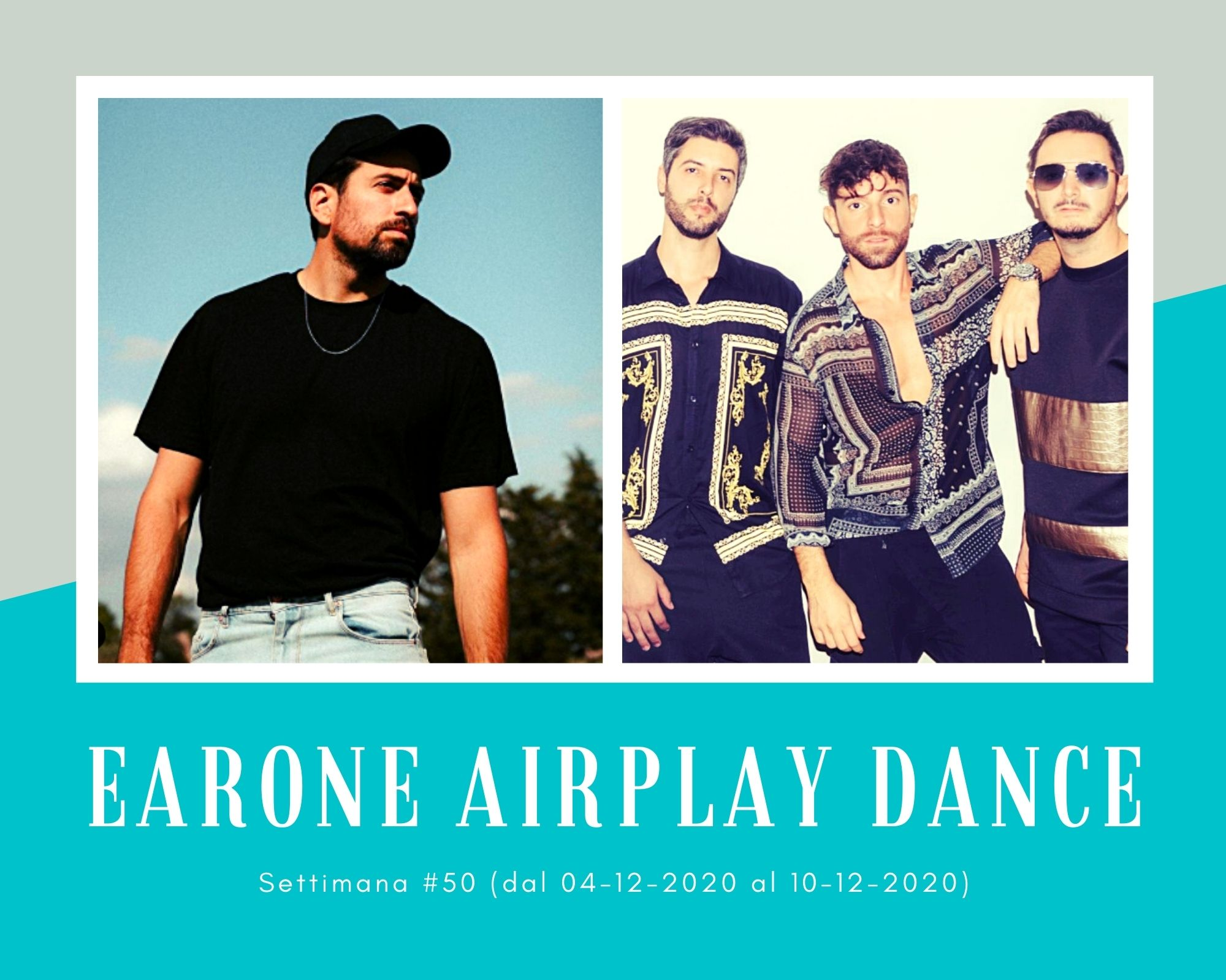 Classifica Radio EARONE Airplay Dance, week 50. I Meduza alle spalle di Dotan