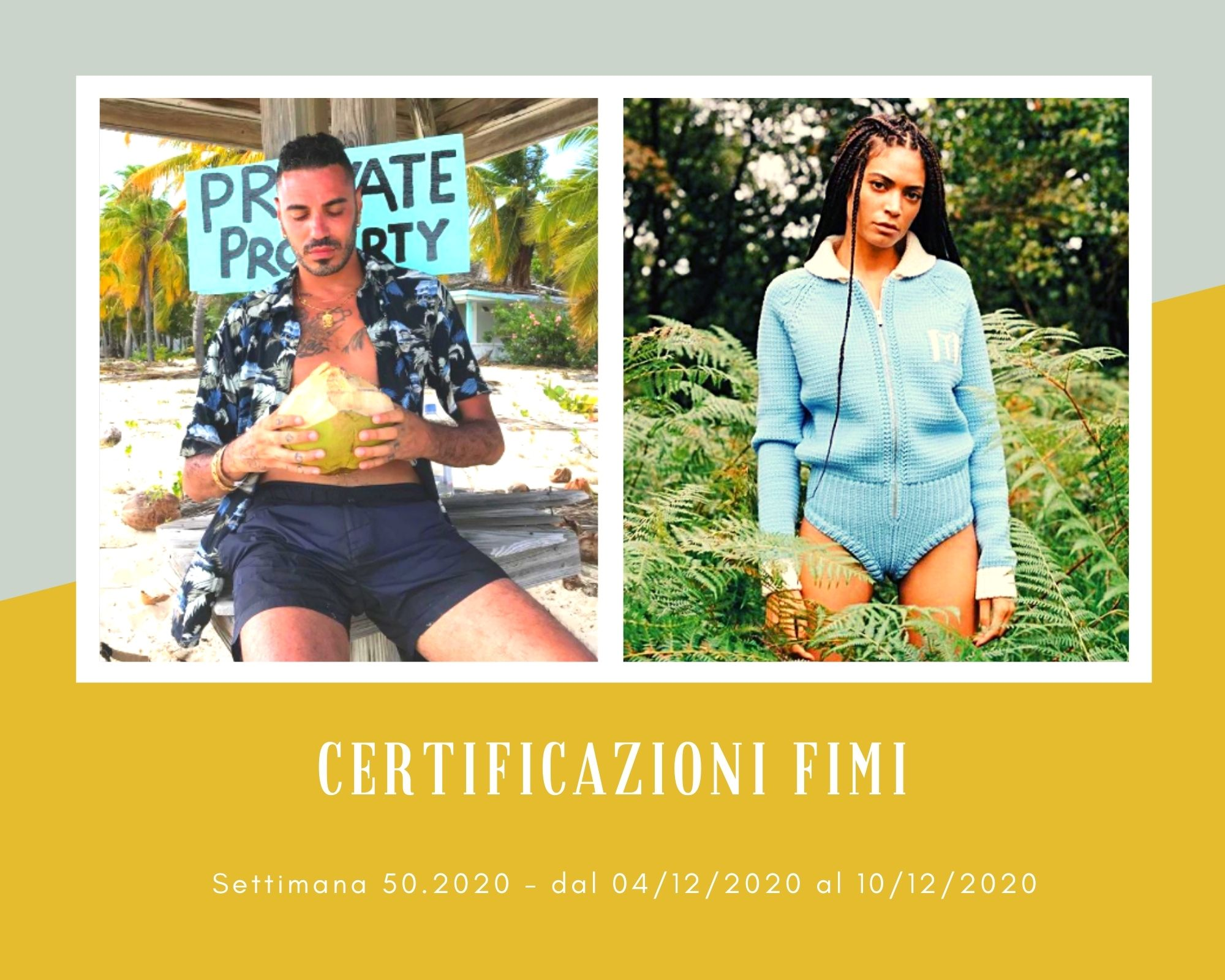 Certificazioni FIMI, week 50. Marracash e Elodie, il re e la regina del 2020