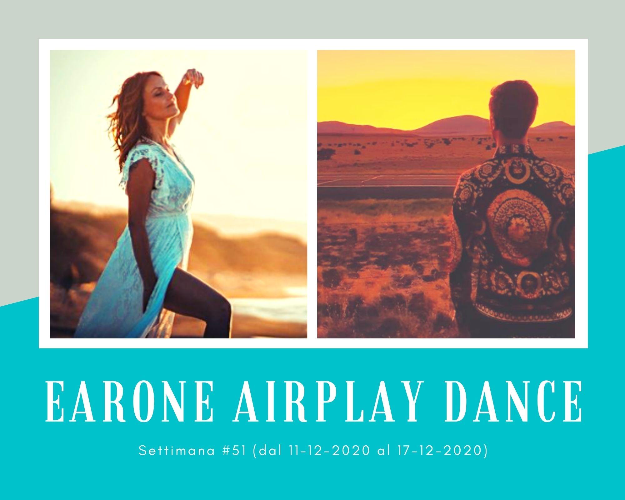 Classifica Radio EARONE Airplay Dance, week 51. Neja nel mucchio e i Meduza alle spalle di David Guetta