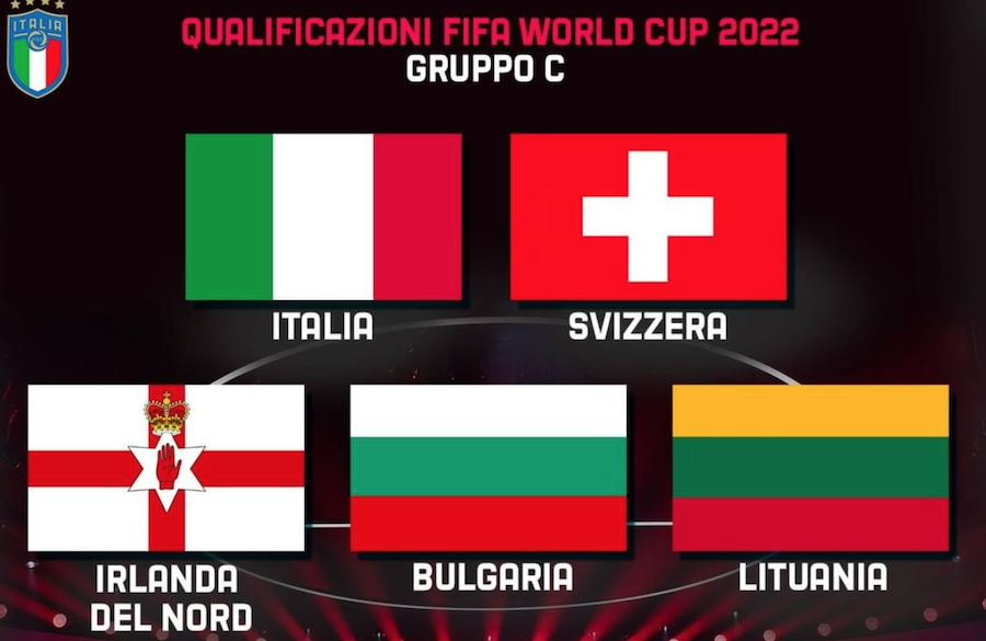 Mondiali 2022, le avversarie dell'Italia nel Gruppo di qualificazione