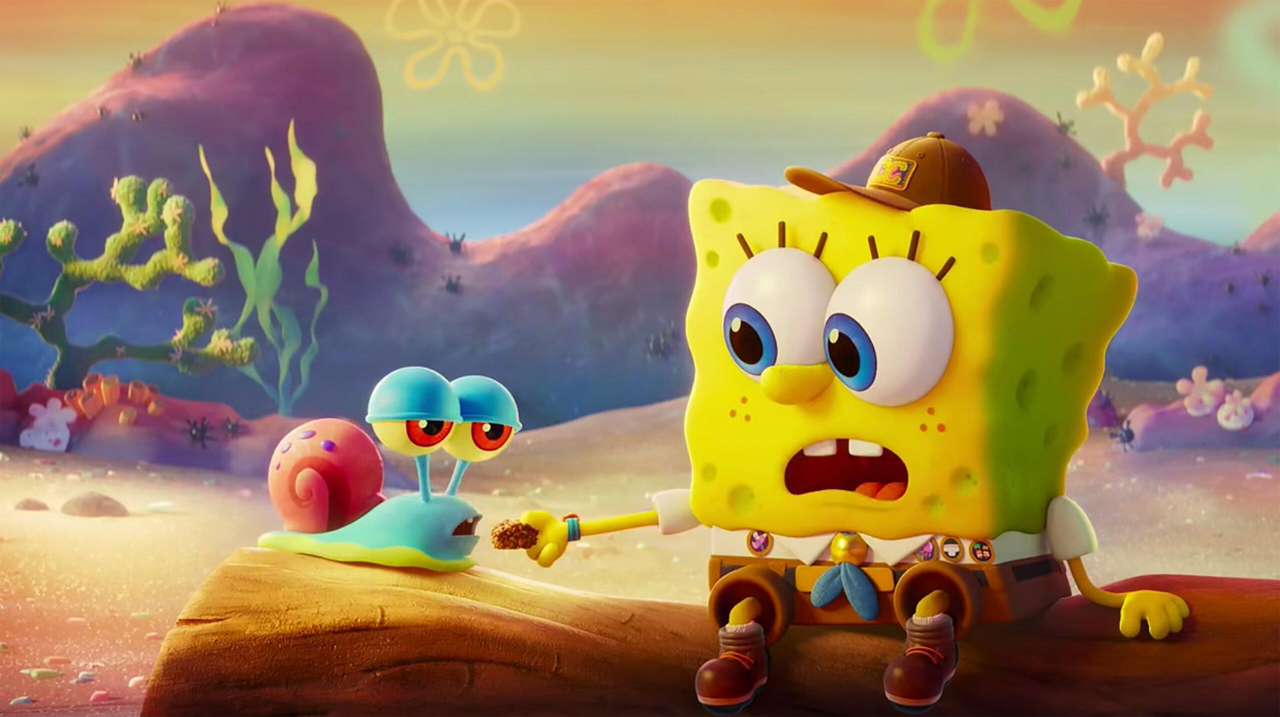 "Cinema. ""Spongebob amici in fuga film"""