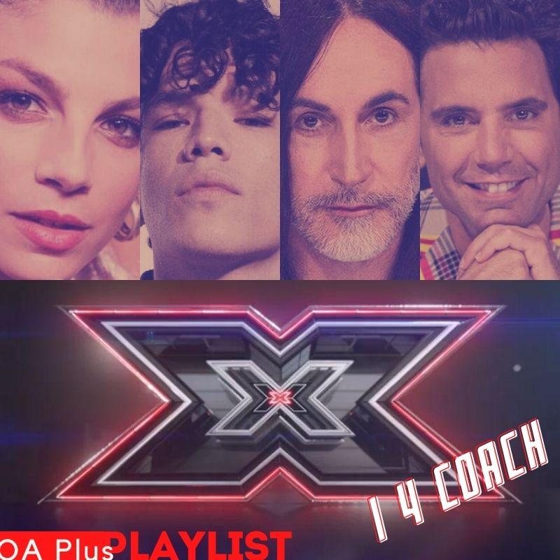X Factor 2020: una playlist condivisa per i 4 giudici