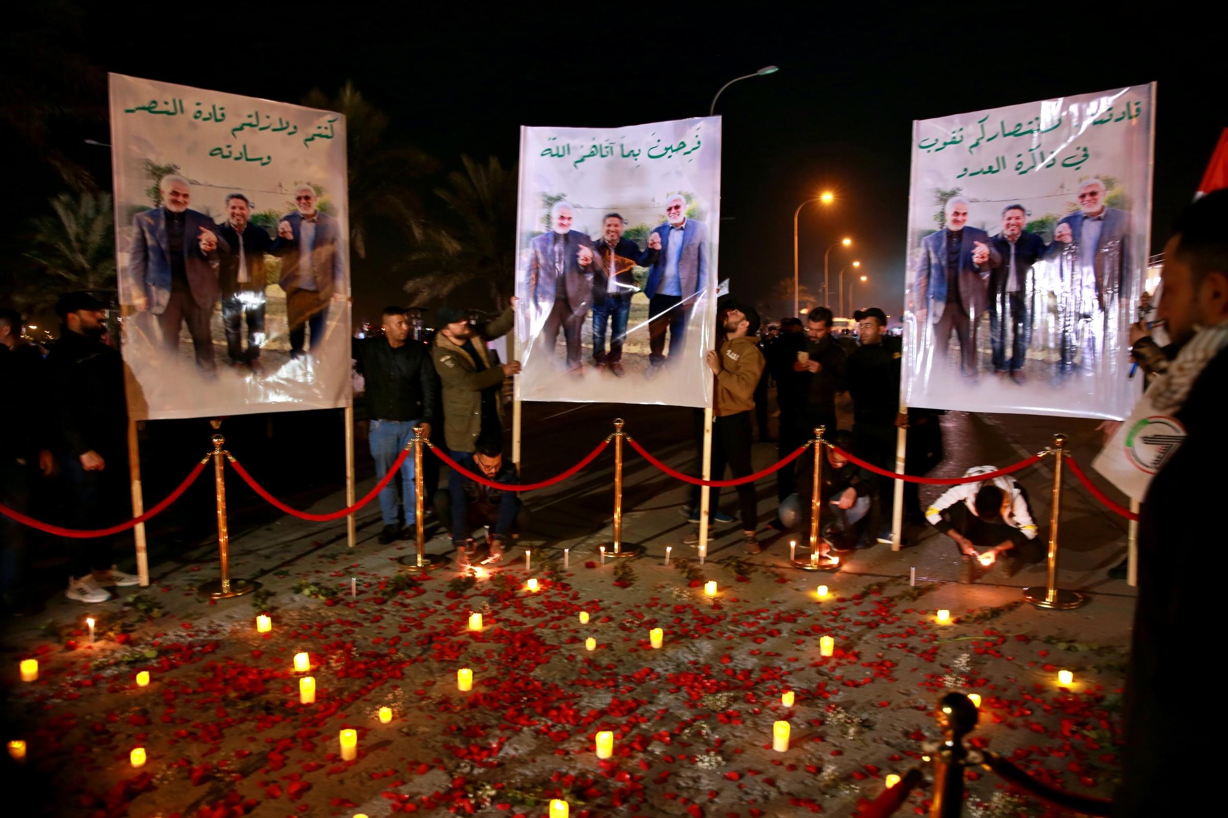 Iraq: a Baghdad cerimonia per anniversario morte Soleimani