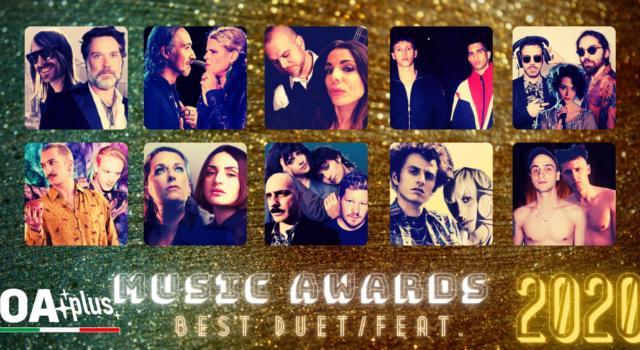 """OA PLUS MUSIC AWARDS 2020. Quali sono i """"Migliori Duetti"""" dell'anno? Vincono Bianconi e Wainwright – ECCO LA TOP 10"""
