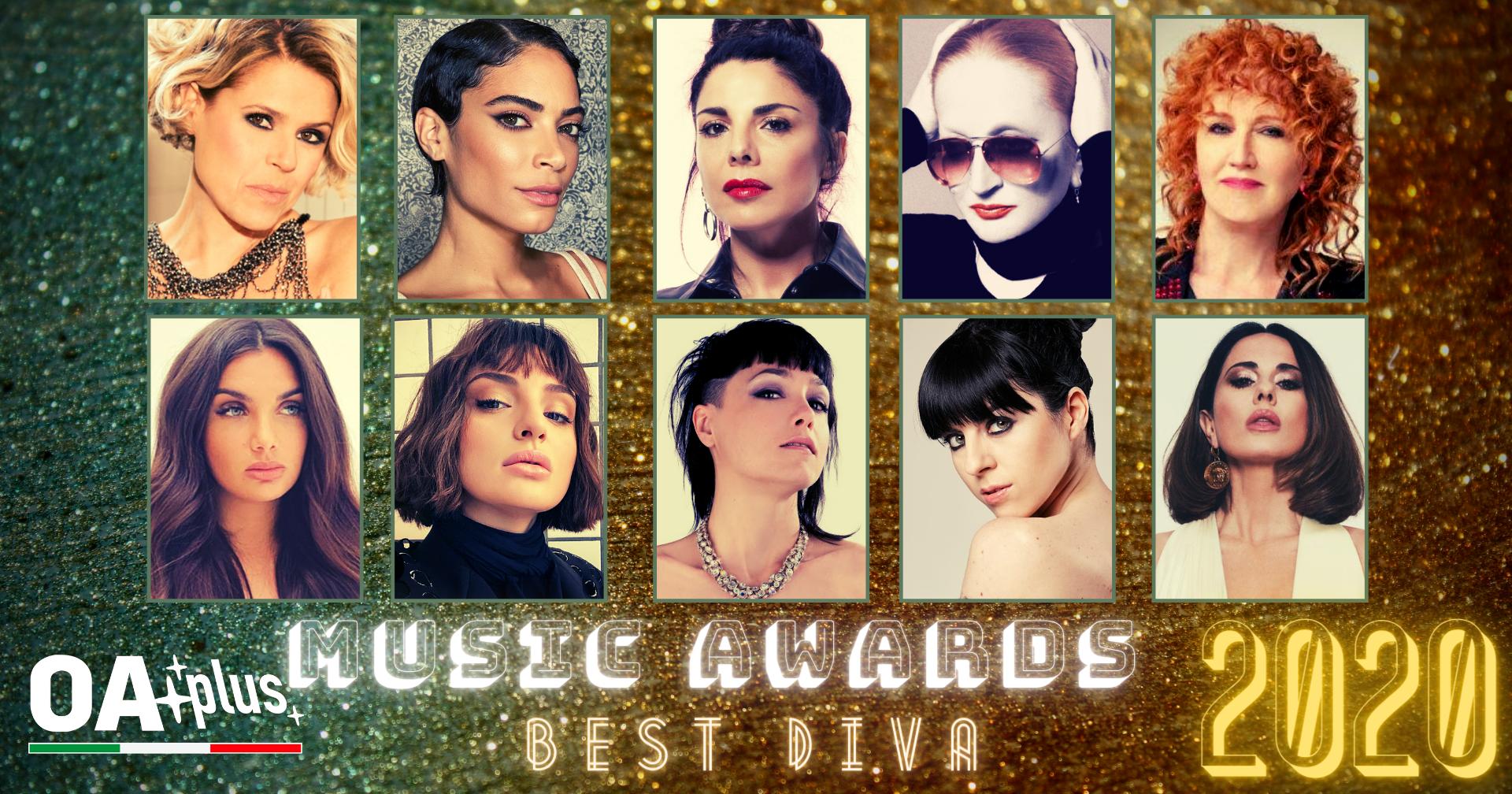 """OA PLUS MUSIC AWARDS 2020. Chi sono le """"Migliori Interpreti"""" dell'anno? Vince Tosca – ECCO LA TOP 10"""