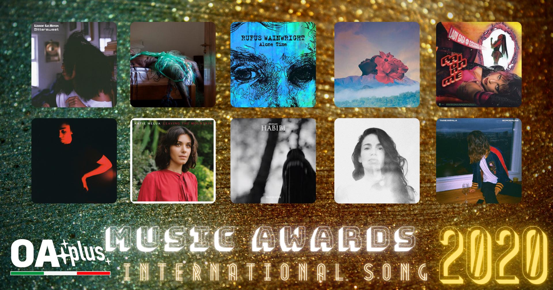 """OA PLUS MUSIC AWARDS 2020. Quali sono le """"Migliori Canzoni Internazionali"""" dell'anno? Vince Lianne La Havas – ECCO LA TOP 10"""