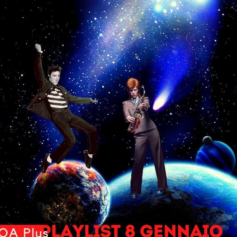 Buon compleanno Elvis Presley e David Bowie! Due alieni del rock in una playlist